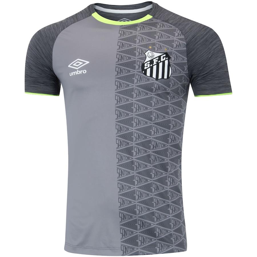 bfcde502ea80f Camisa do Santos Aquecimento 2018 Umbro - Masculina