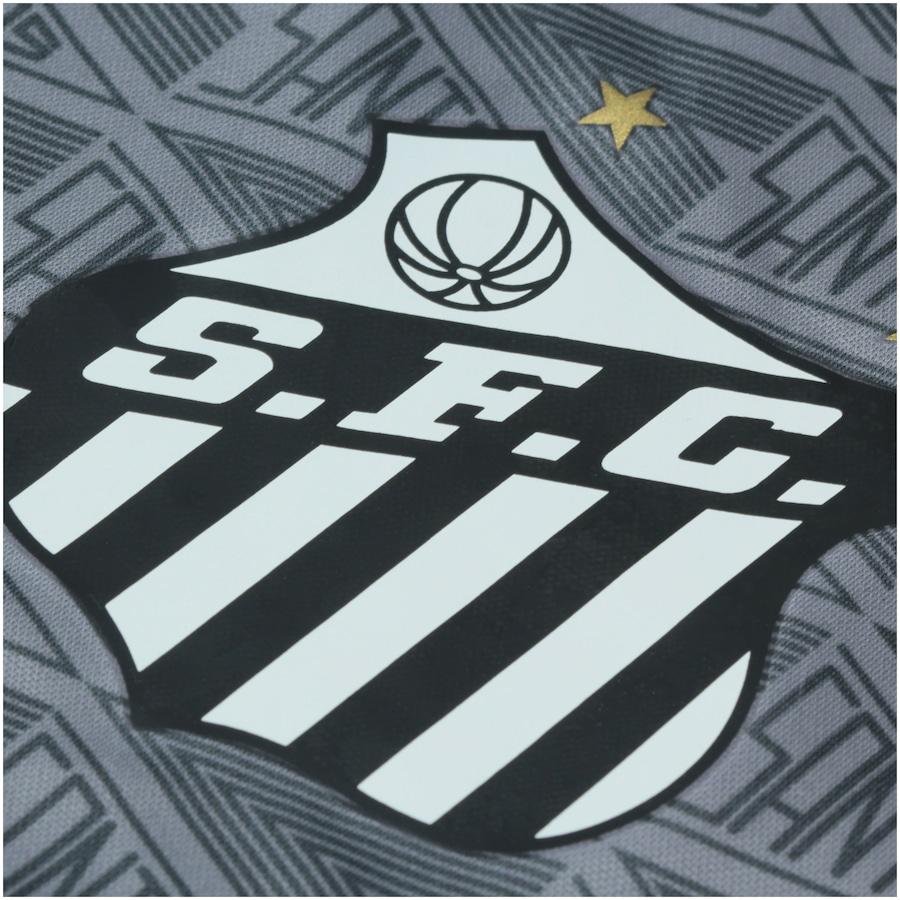 Camisa do Santos Aquecimento 2018 Umbro - Masculina 5ec754acc3a97