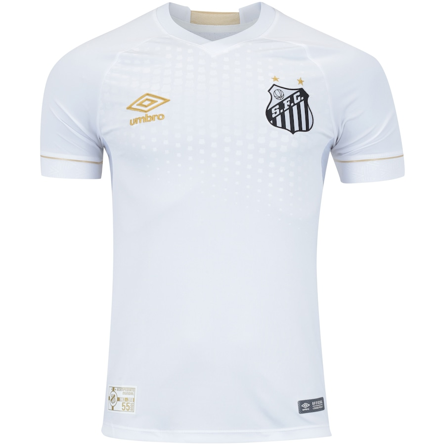 Camisa do Santos I 2018 Umbro - Masculina 9fb334211a583