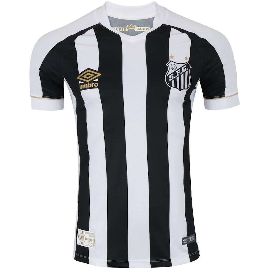 Camisa do Santos II 2018 Umbro - Masculina 30fd9d5bdd2