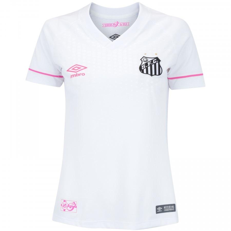 Camisa do Santos I 2018 Sereias da Vila Umbro - Feminina 50880a58c9181