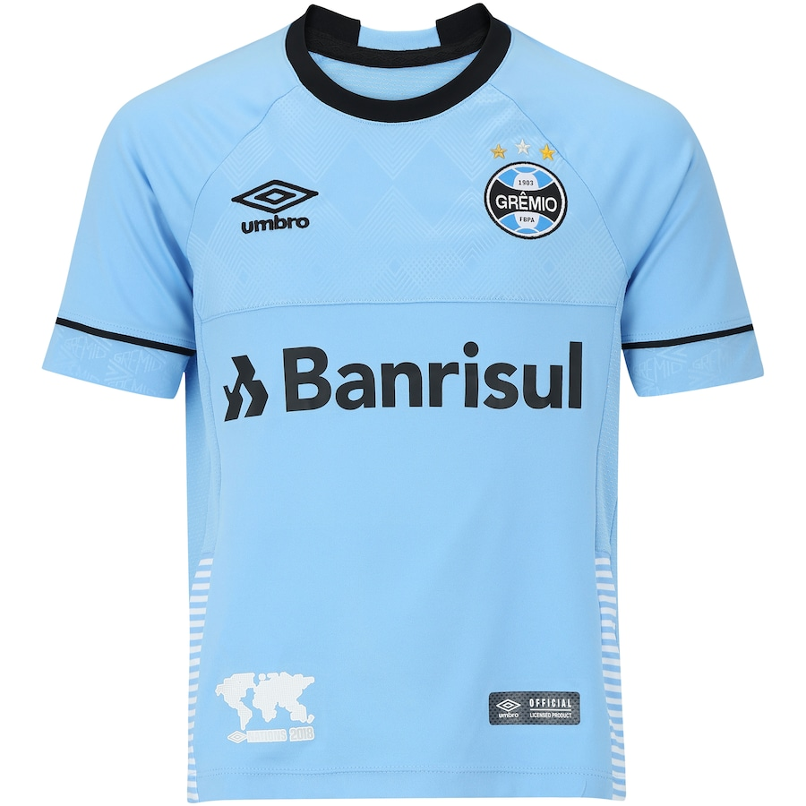 Camisa do Grêmio Nations Charrua Umbro - Infantil 6105e5391d547