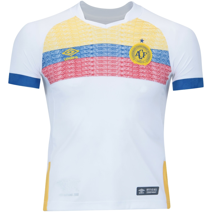 Camisa da Chapecoense Nations La Pasion Umbro - Infantil 0a53784574300