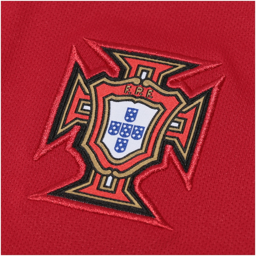 Camisa Portugal I 2018 Nike - Infantil af7568387c8d7
