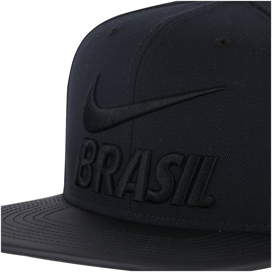 Boné Aba Reta da Seleção Brasileira 2018 Nike Pride - Snapback - Adulto 8a37f0873a1