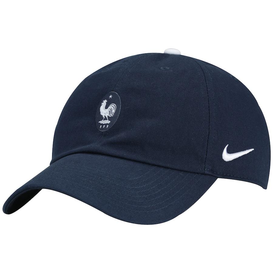 Boné Aba Curva França 2018 Nike H86 Core - Strapback - Adulto 174d463a6ea