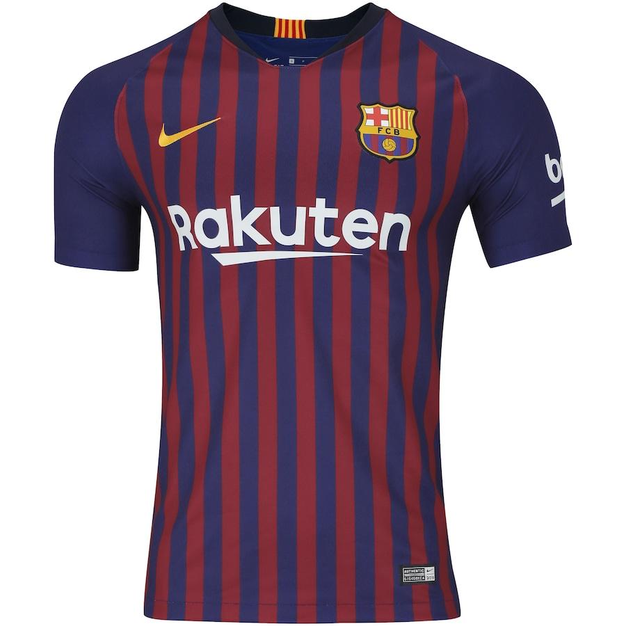 7a2d71ada7 Camisa Barcelona I 18/19 Nike - Masculina