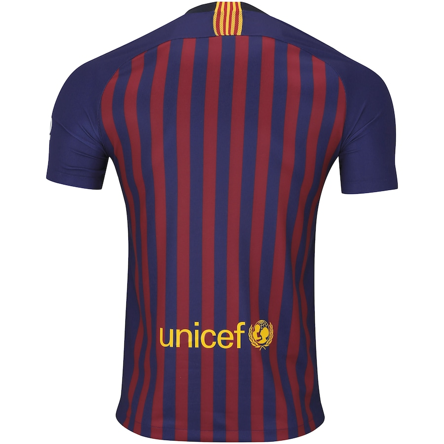 12d4f2577498e Camisa Barcelona I 18 19 Nike - Masculina