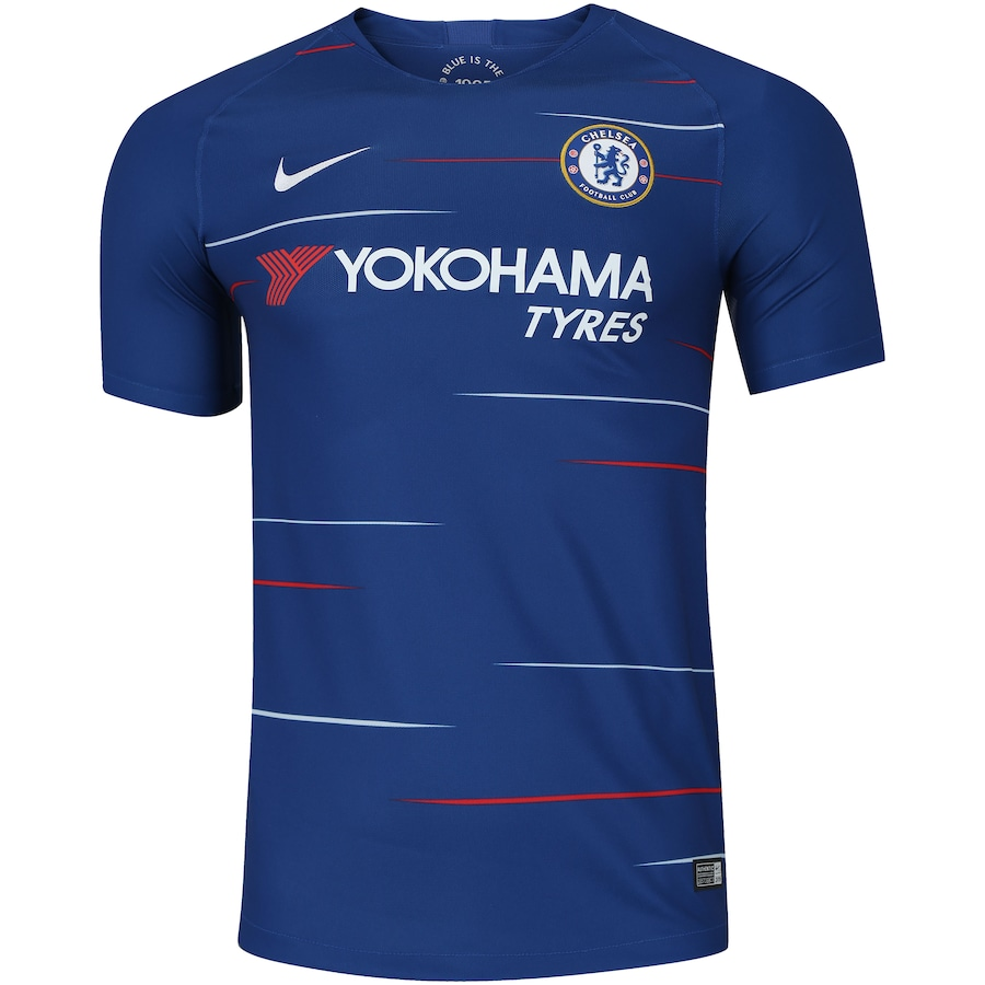 Camisa Chelsea I 18 19 Nike - Masculina e471fda4d353a
