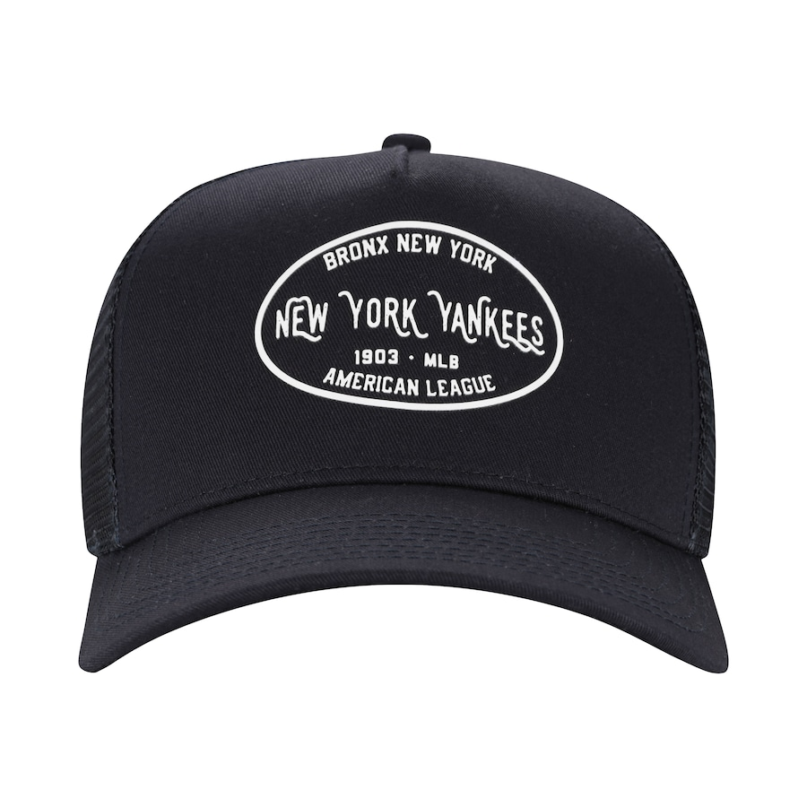 53b53f5b8d Boné Aba Curva New Era 940 New York Yankees Core Label - Snapback - Trucker  - Adulto