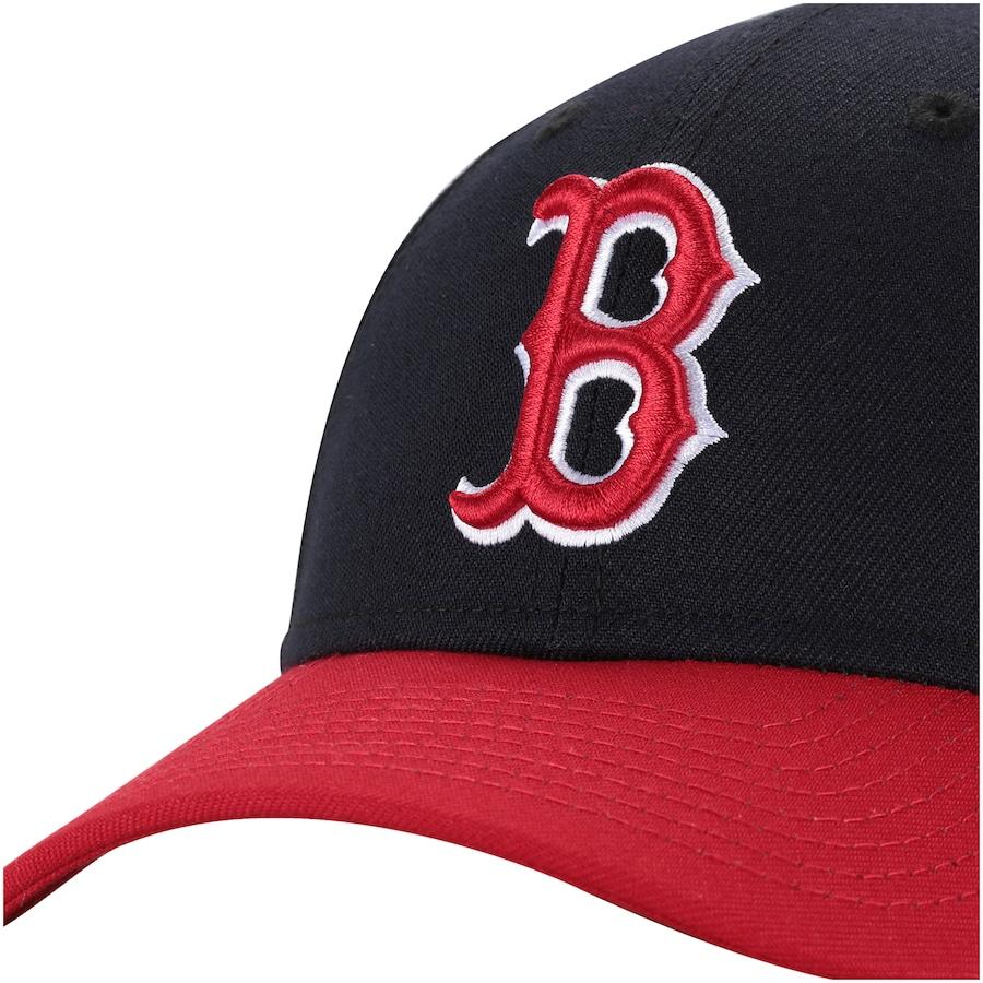 Boné Aba Curva New Era 940 Boston Red Sox SN Team Color - Snapback - Adulto 0dbb46d8f7d
