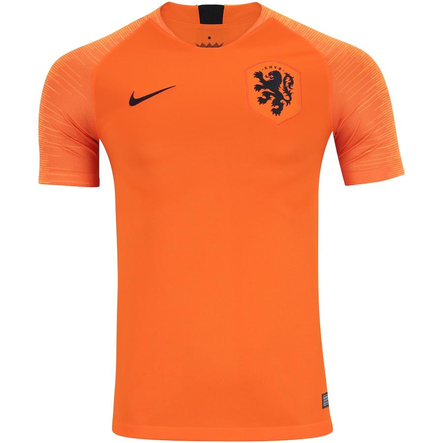 45aca859bd Camisa Holanda I 2018 Nike - Masculina