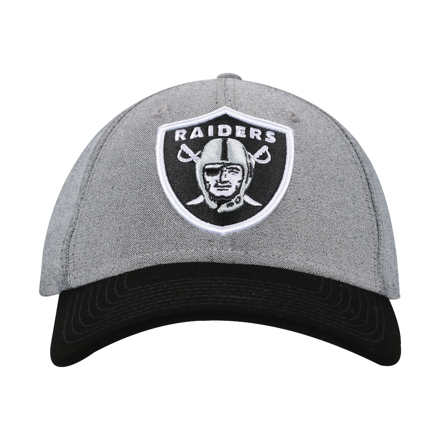 Boné Aba Curva New Era 940 Oakland Raiders SN Core Denim - Snapback - Adulto 6a25ef062d4