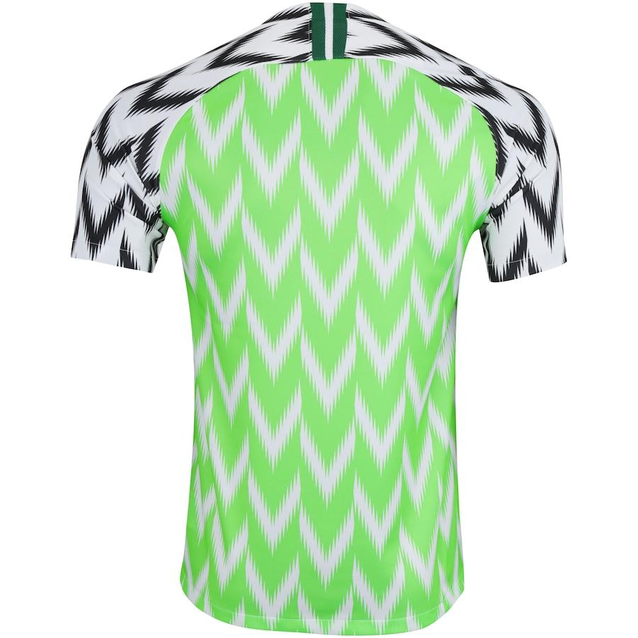 b4e45ce388 Camisa Nigéria I 2018 Nike - Masculina