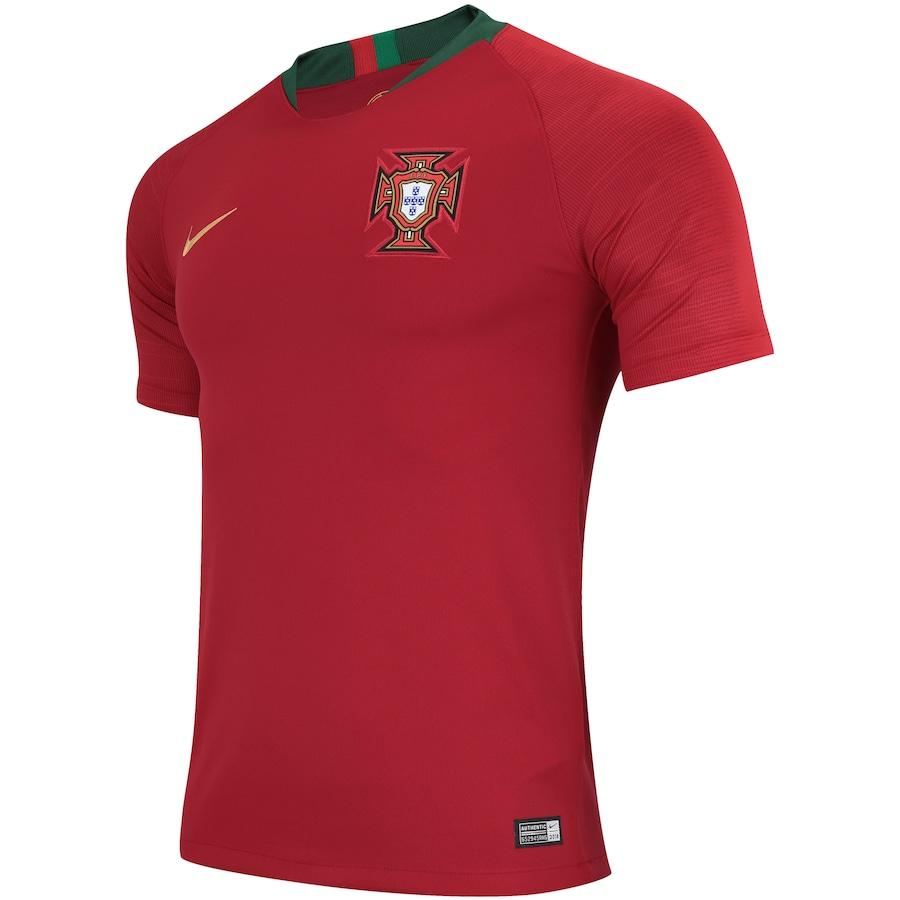 25c9b8b29c Camisa Portugal I 2018 Nike - Masculina