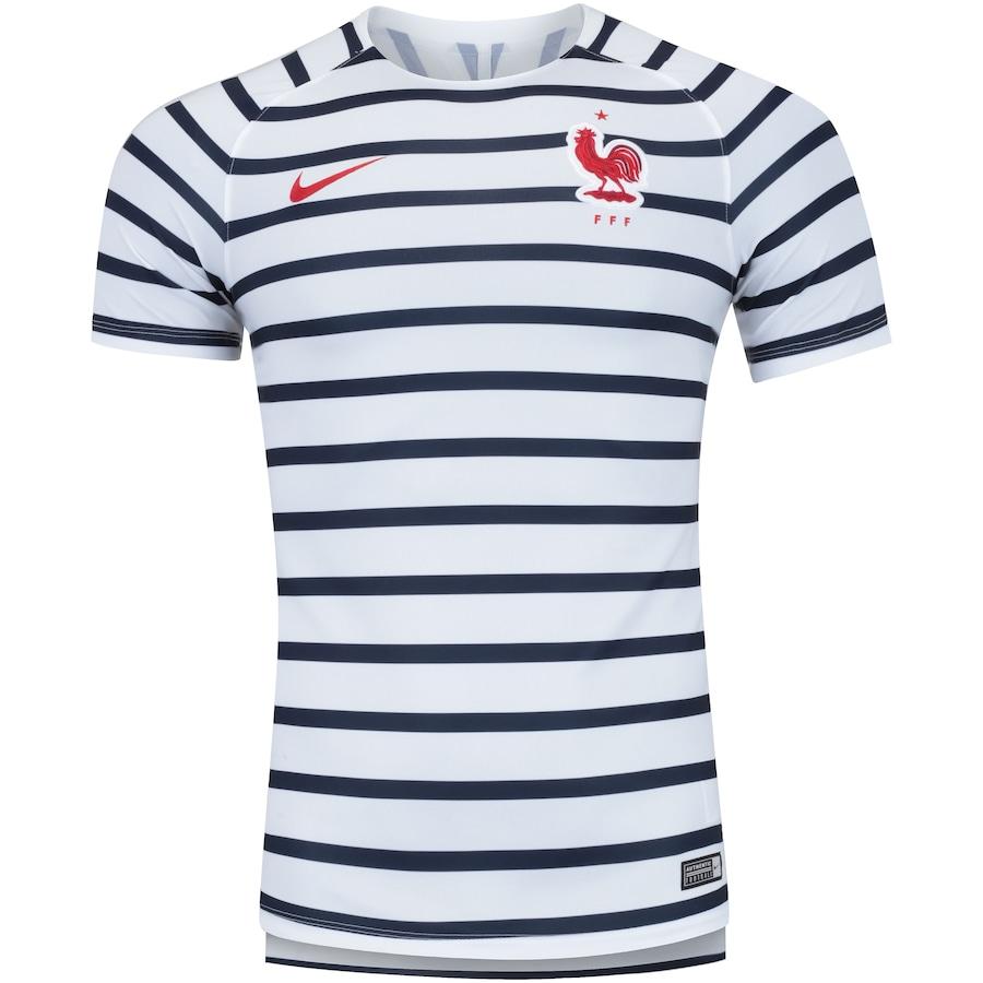 73142a3c11 Camisa Pré-Jogo França 2018 Nike - Masculina