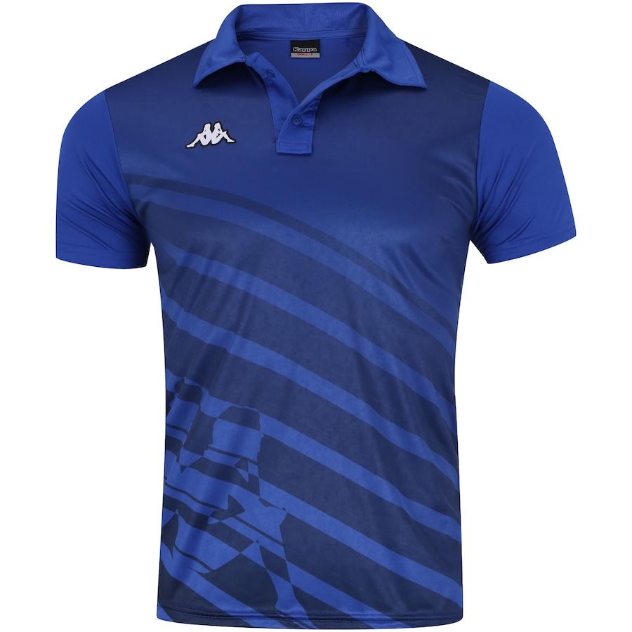 ade7e5a1e Camisa Polo Kappa Diagonale - Masculina