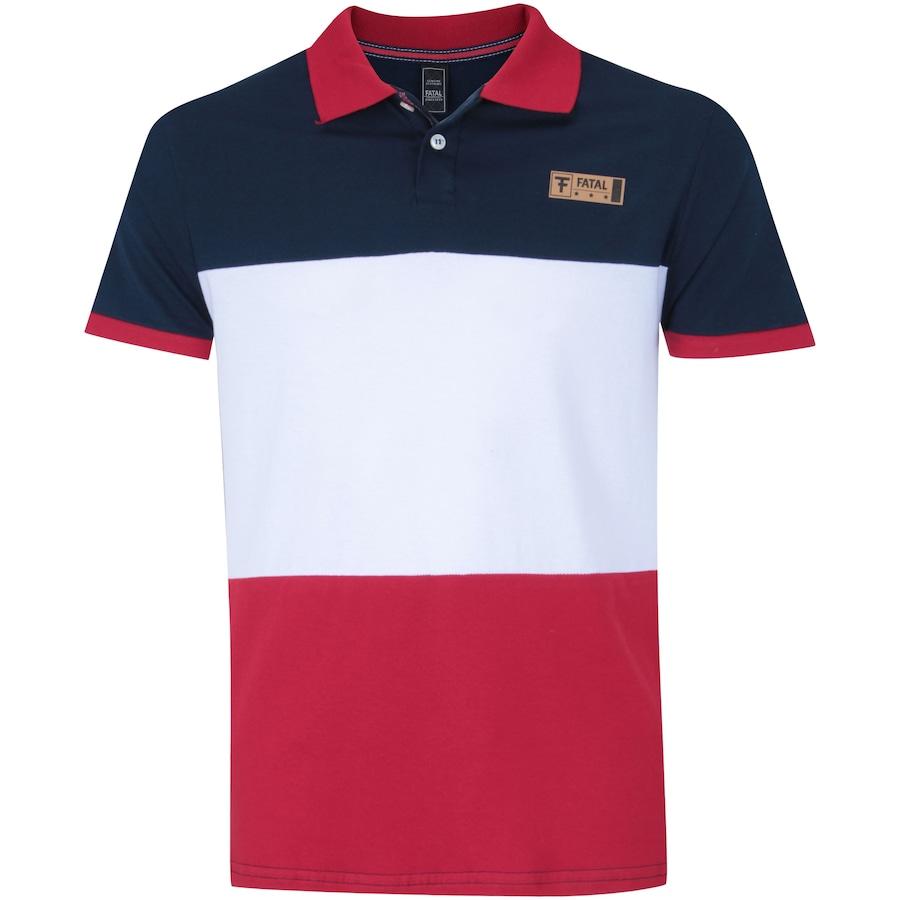 464a4cf866 Camisa Polo Fatal 18098 - Masculina
