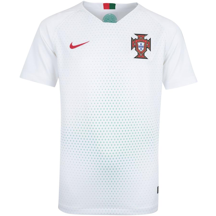 Camisa Portugal II 2018 Nike - Infantil 5fd98e13baa31