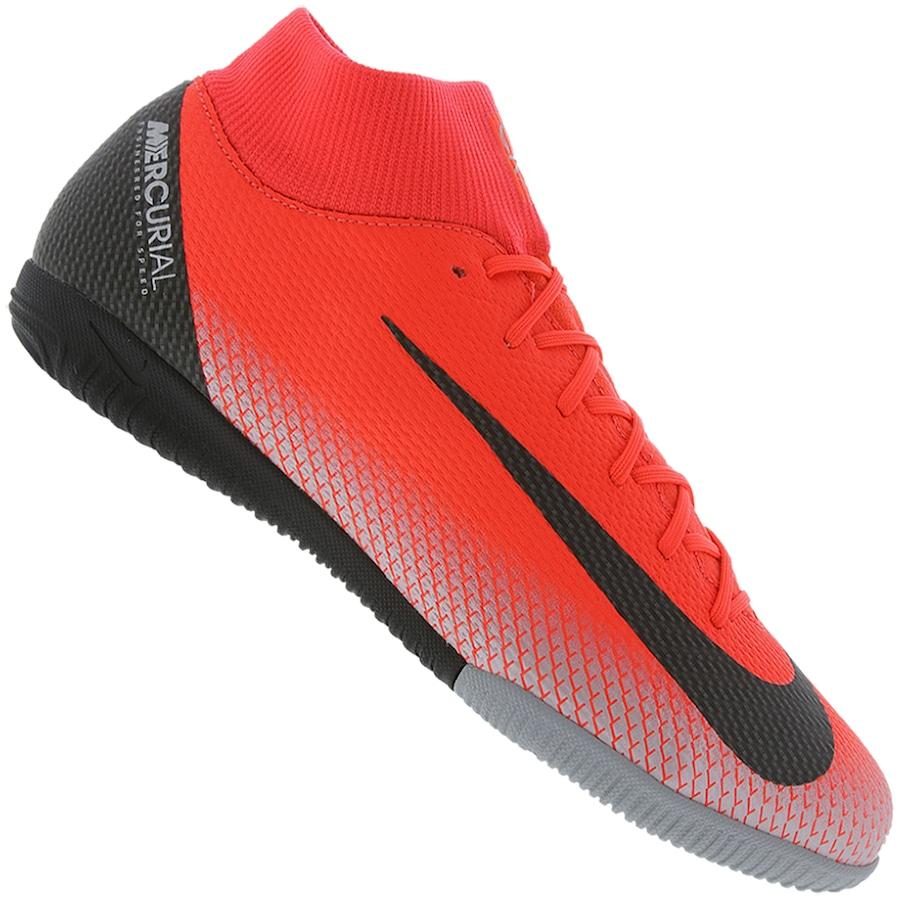 Chuteira Futsal Nike Mercurial Superfly X 6 Academy CR7 IC - Adulto 1c59876681e21
