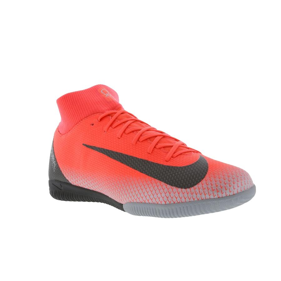 56f0b09e3e Chuteira Futsal Nike Mercurial Superfly X 6 Academy CR7 IC - Adulto