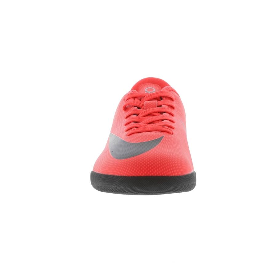 5664badcc7 ... Chuteira Futsal Nike Mercurial Vapor X 12 Club GS CR7 IC - Infantil ...