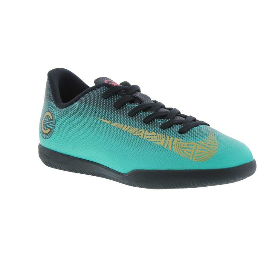 2c22a537fe954 ... Chuteira Futsal Nike Mercurial Vapor X 12 Club GS CR7 IC - Infantil ...