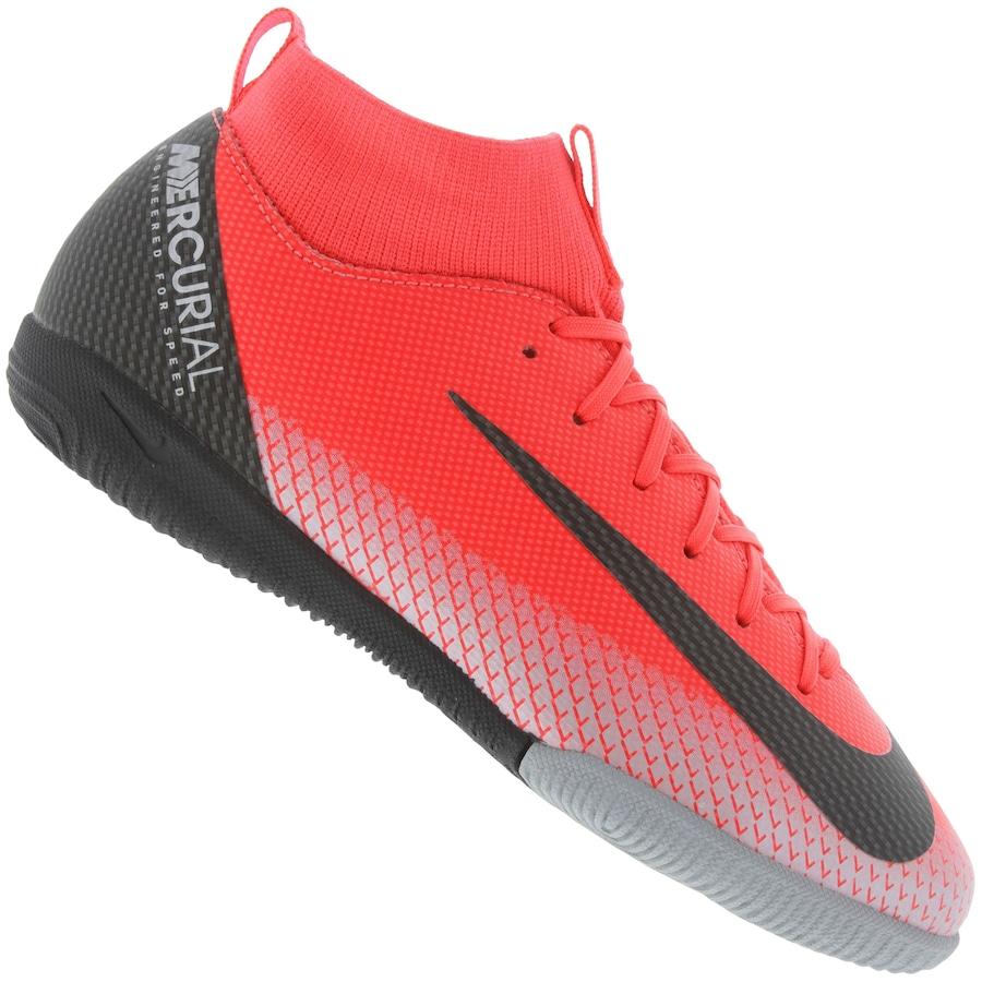 ed8a5674c5 Chuteira Futsal Nike Mercurial Superfly 6 Academy GS CR7 IC - Infantil