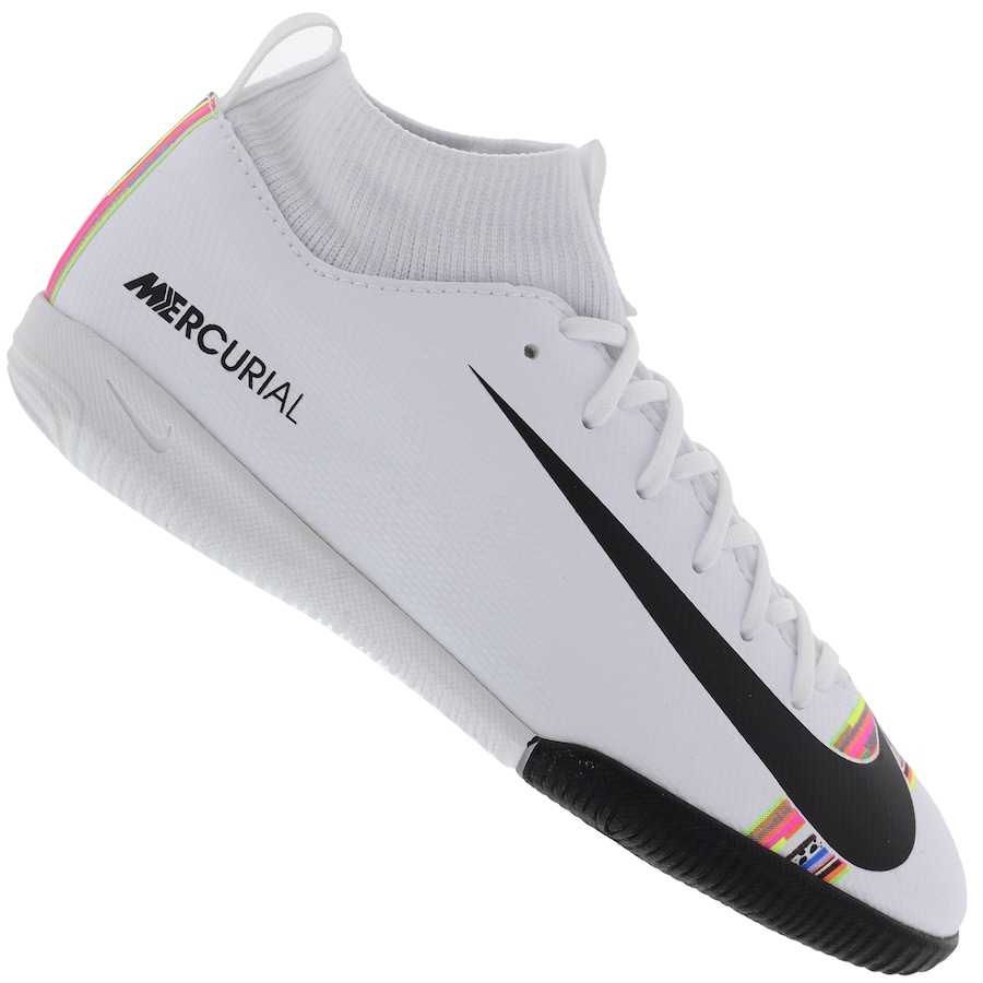 2be9788aef1 Chuteira Futsal Nike Mercurial Superfly 6 Academy GS CR7 IC - Infantil
