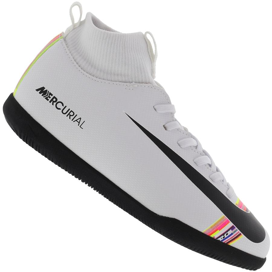 5493ae4b81463 Chuteira Futsal Nike Mercurial Superfly X 6 Club CR7 - Infantil