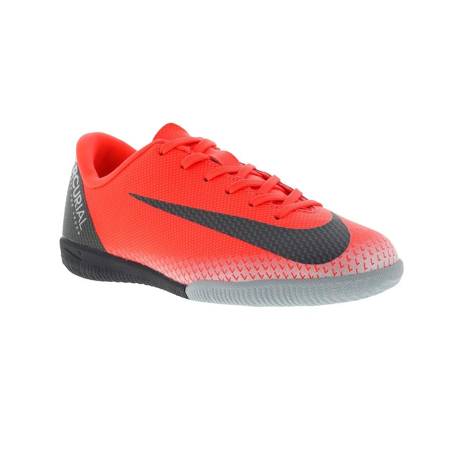 Chuteira Futsal Nike Mercurial Vapor X 12 Academy GS CR7 IC - Infantil 4afa4ef0a2d43