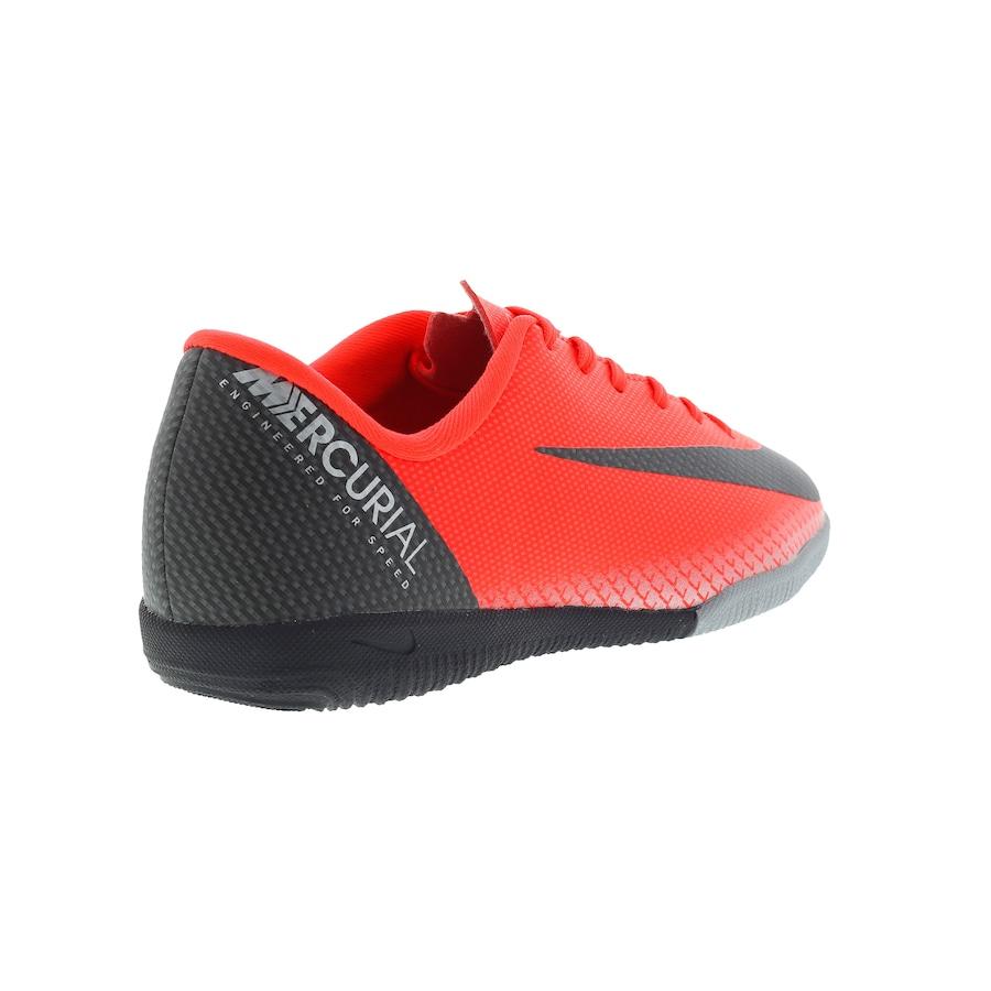 Chuteira Futsal Nike Mercurial Vapor X 12 Academy GS CR7 IC - Infantil 0f79fdbf9918b