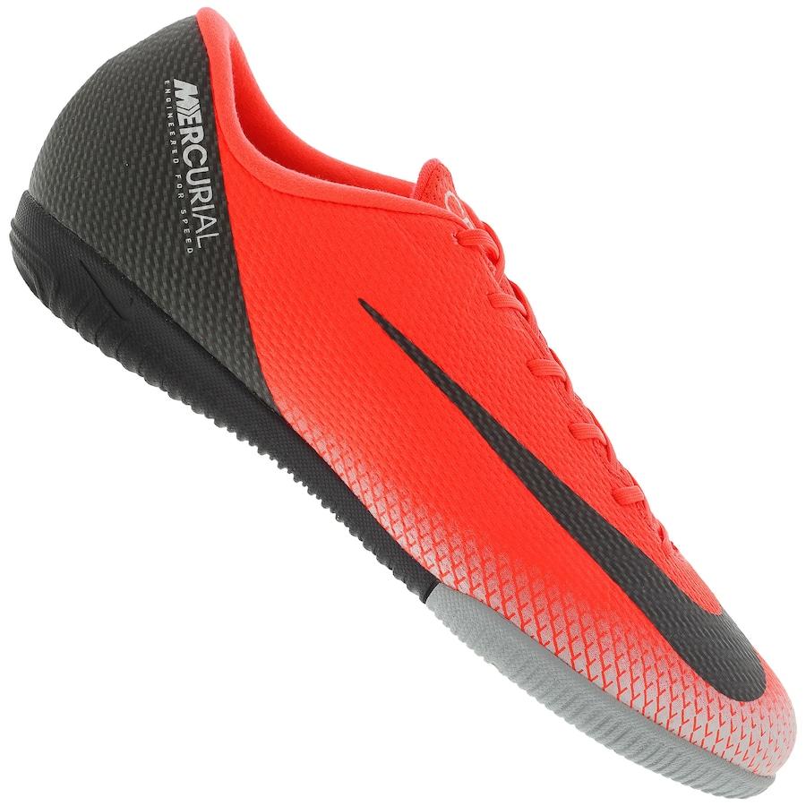 1a8ab595e6 Chuteira Futsal Nike Mercurial Vapor X 12 Academy CR7 IC - Adulto