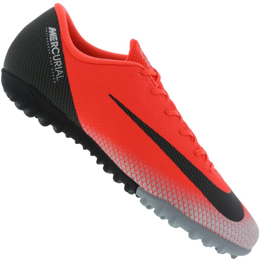 5fd5d4d0c Chuteira Society Nike Mercurial Vapor X 12 Academy CR7 TF - Adulto