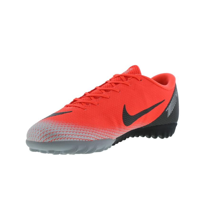 Chuteira Society Nike Mercurial Vapor X 12 Academy CR7 TF - Adulto 91d4020fb8