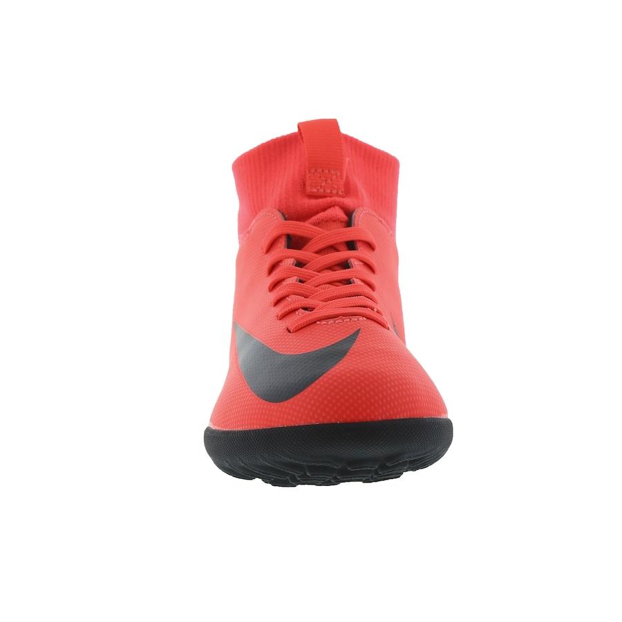 ceb1ca2bca Chuteira Society Nike Mercurial Superfly 6 Club CR7 TF - Infantil