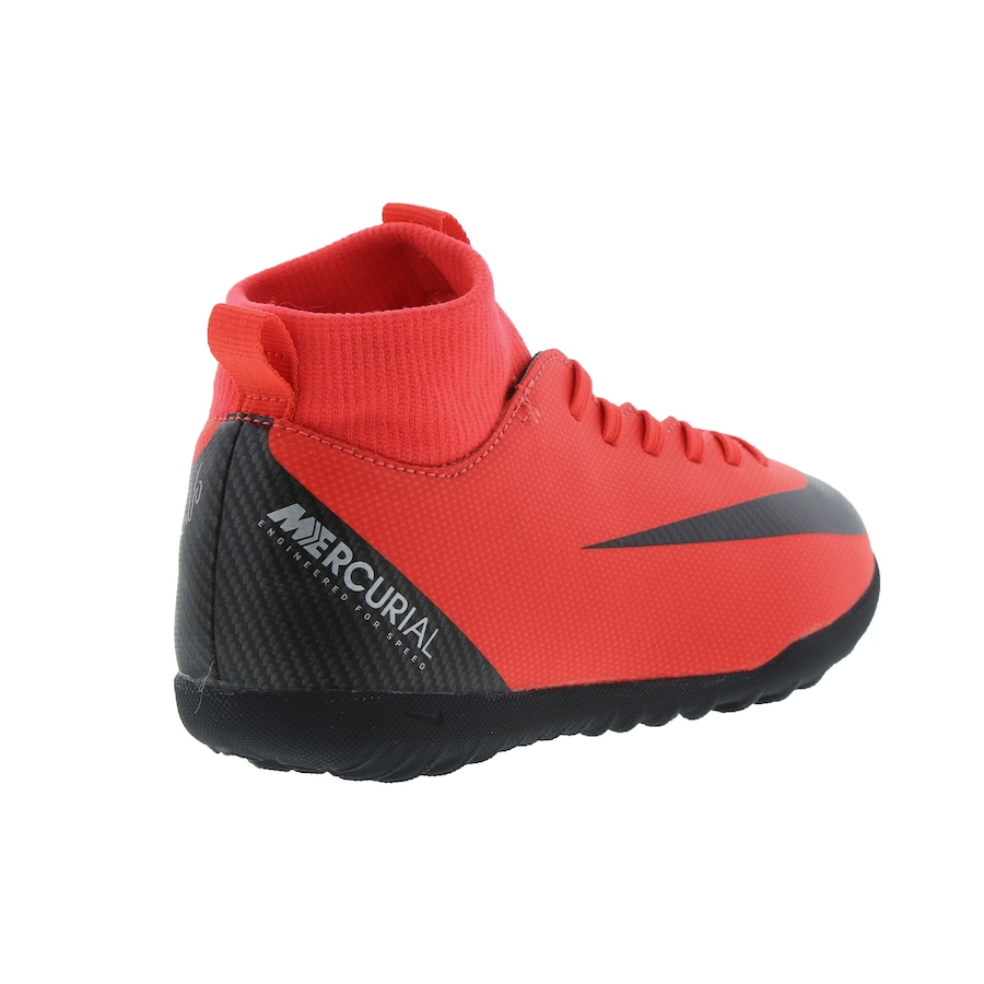 Chuteira Society Nike Mercurial Superfly 6 Club CR7 TF - Infantil 0926d9c835
