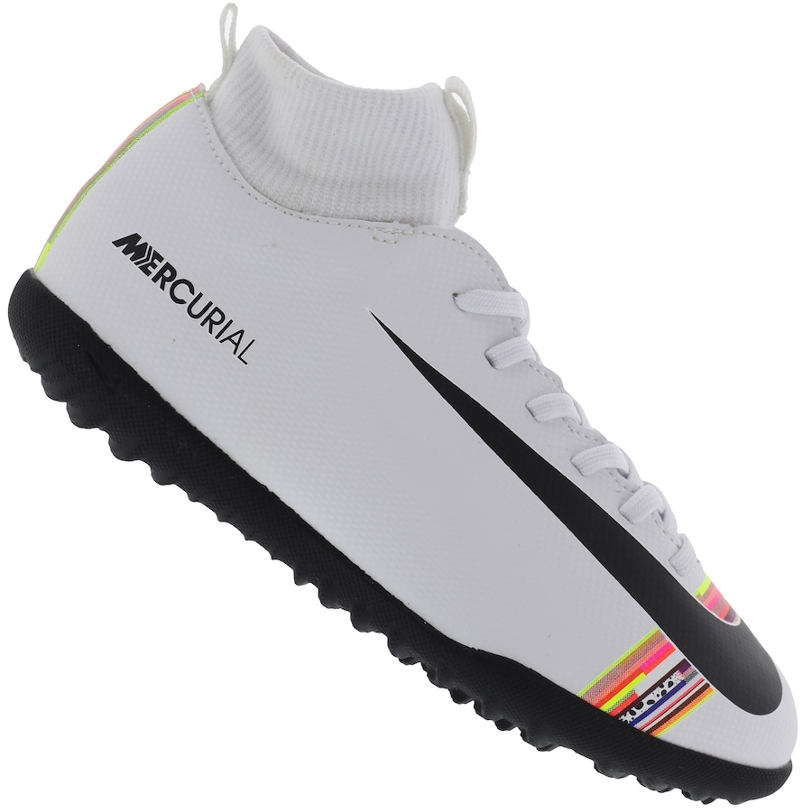 cabb2e54f9295 Chuteira Society Nike Mercurial Superfly 6 Club CR7 TF - Infantil