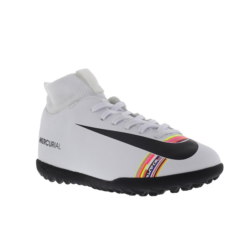 cabb2e54f9295 Chuteira Society Nike Mercurial Superfly 6 Club CR7 TF - Infantil