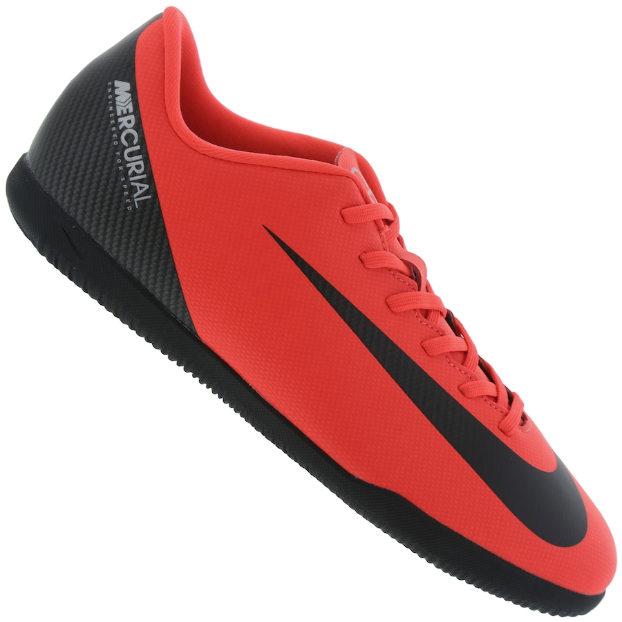 e81f142679 Chuteira Futsal Nike Mercurial Vapor X 12 Club CR7 IC - Adulto