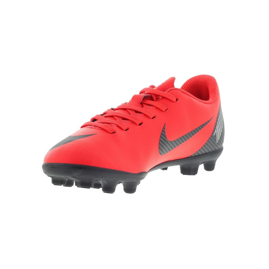 0563655d95de4 Chuteira de Campo Nike Mercurial Vapor 12 Club GS CR7 MG - Infantil