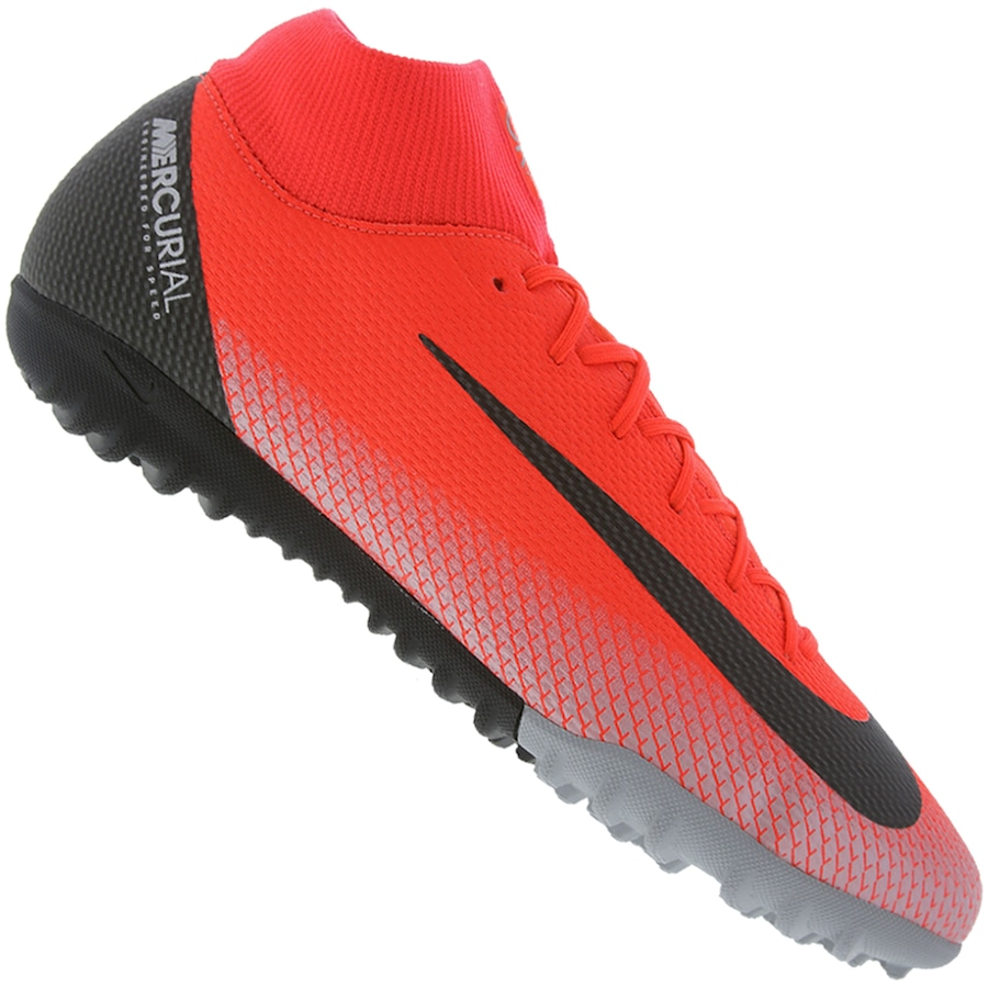 d79eba428a Chuteira Society Nike Mercurial Superfly X 6 Academy CR7 TF - Adulto