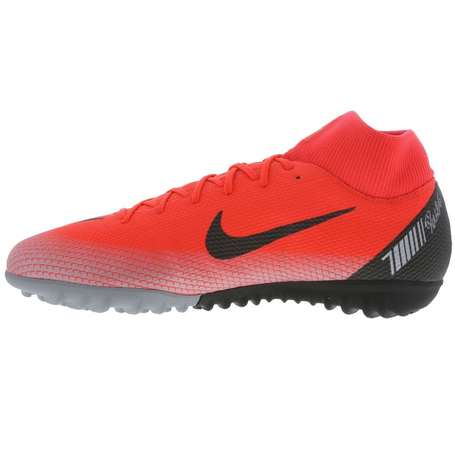 Chuteira Society Nike Mercurial Superfly X 6 Academy CR7 TF - Adulto 30879e96a9