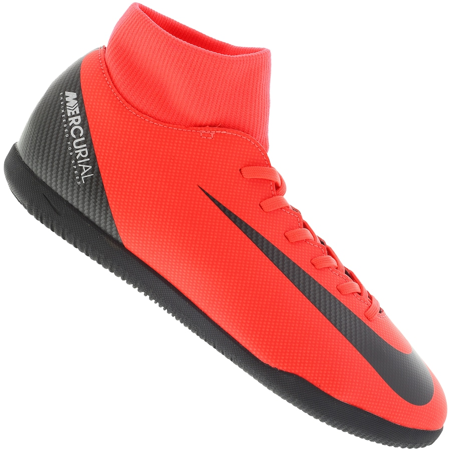 Chuteira Futsal Nike Mercurial Superfly X 6 Club CR7 IC - Adulto 8e226627498c1