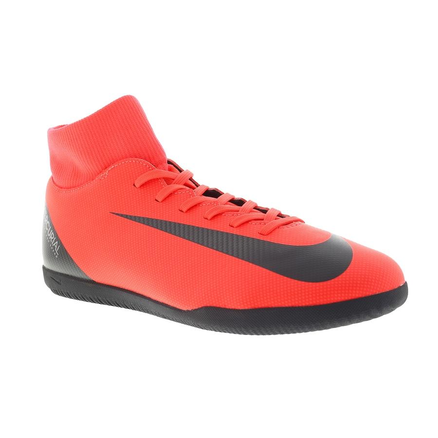 81e48f5f42 Chuteira Futsal Nike Mercurial Superfly X 6 Club CR7 IC - Adulto