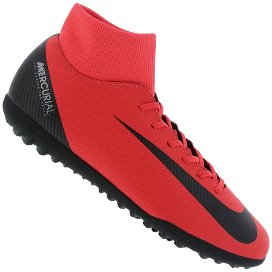 Chuteira Society Nike Superfly X 6 Club CR7 TF - Adulto 719fc6a885876