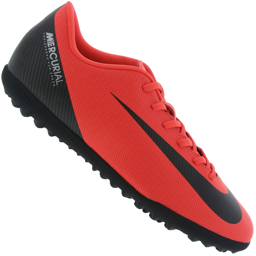 fb53925b5ac6c Chuteira Society Nike Mercurial Vapor X 12 Club CR7 TF - Adulto
