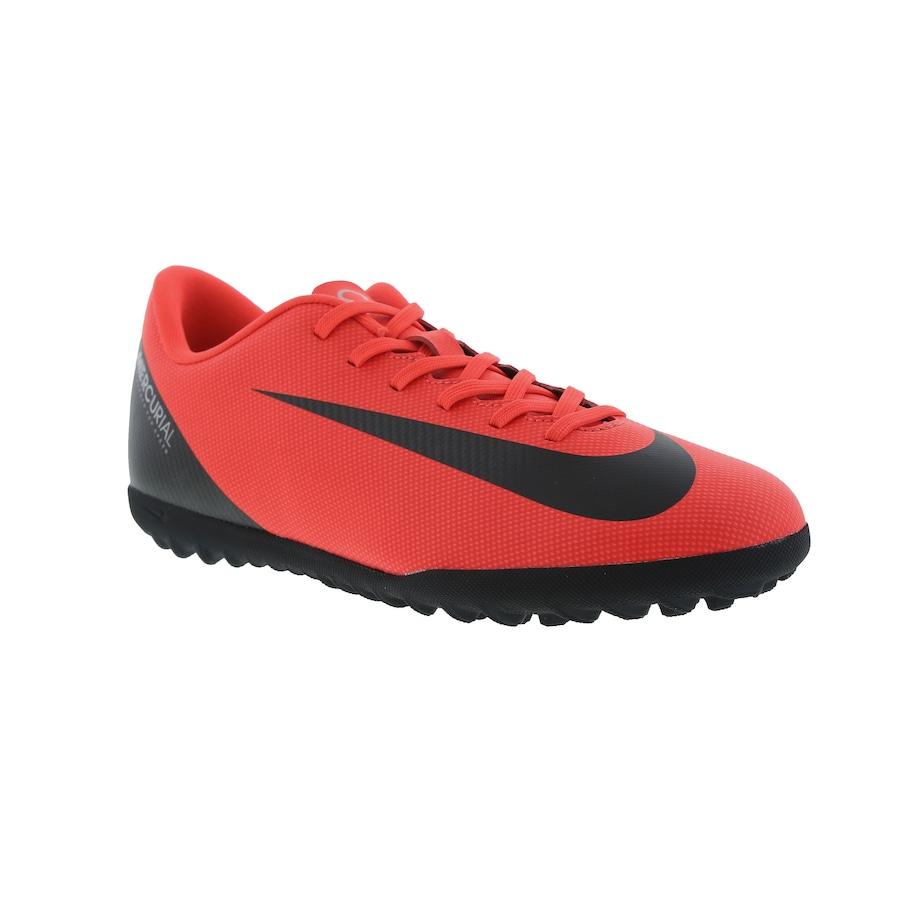 Chuteira Society Nike Mercurial Vapor X 12 Club CR7 TF - Adulto b0091c0660eb9