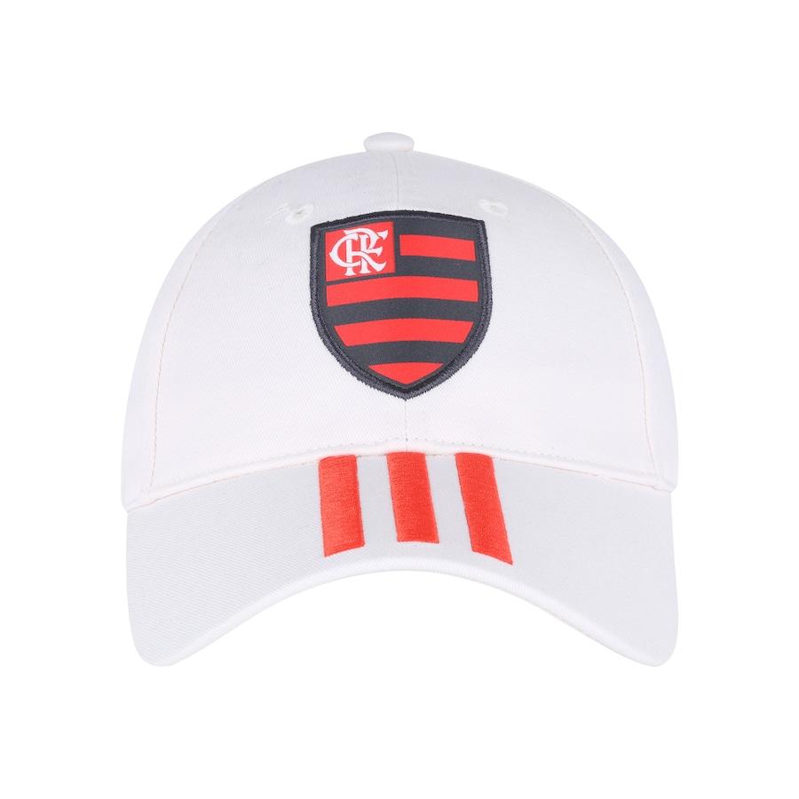 Boné Aba Curva do Flamengo 3S 2018 adidas - Strapback - Adulto fd3b71c33e54f