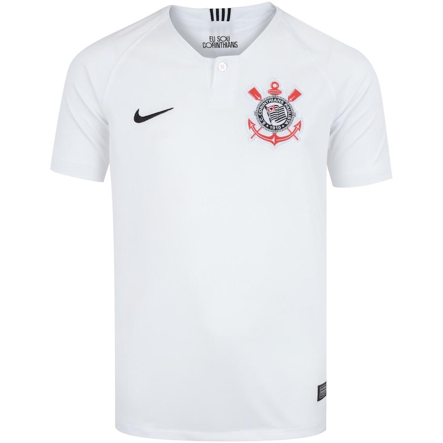 Camisa do Corinthians I 2018 Nike - Infantil c1cb7b2e600